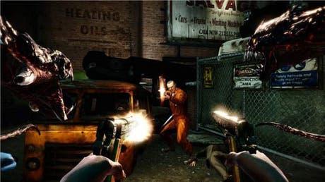 The Darkness II escena de la demo