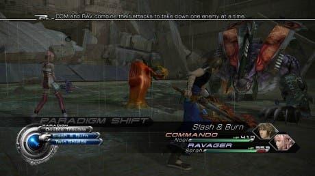 FFXIII2 batalla