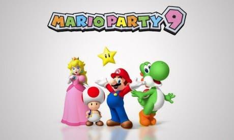 Mario Party 9 llegará en marzo