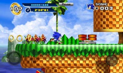 Sonic 4 Episode I gameplay