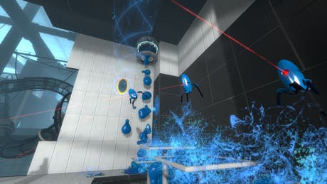 Torretas en Portal 2