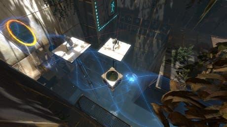 Túnel de luz en Portal 2