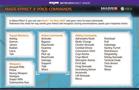 Comandos de voz para Kinect