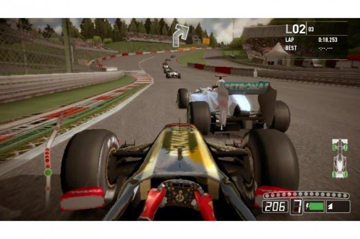 F1 2011 gameplay