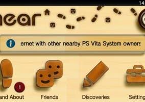 Aplicación social PS Vita