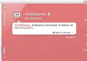 RT en Twitter de PS Vita
