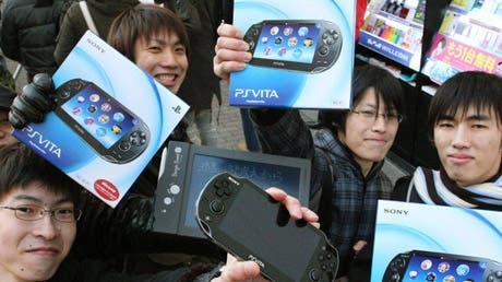 PS Vita a la venta en japón