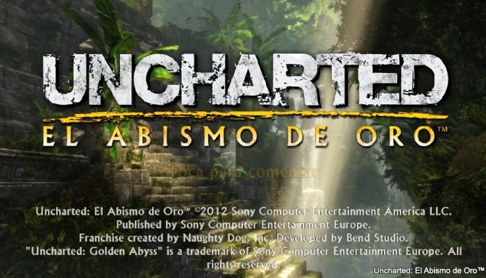 Portada Uncharted PS Vita