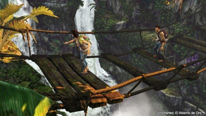 Imagen puente Uncharted Golden Abyss