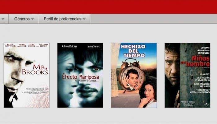 Cine en Netflix