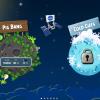 Angry Birds Space Selección de mundos