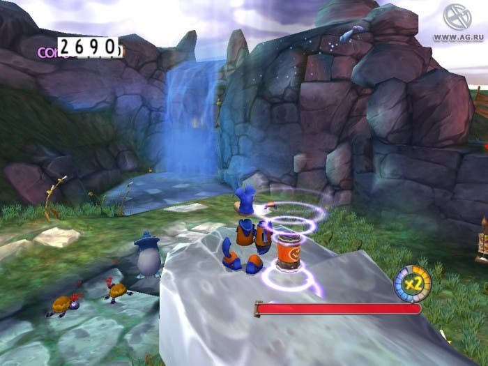 Gameplay de Rayman 3