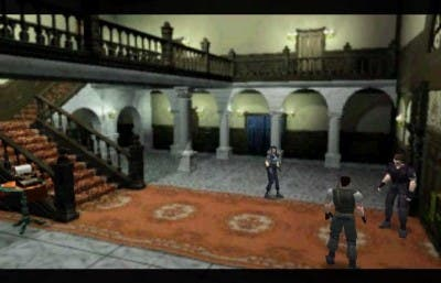 Primera escena del juego