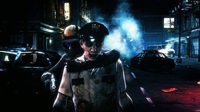 Zombie policía nos ataca