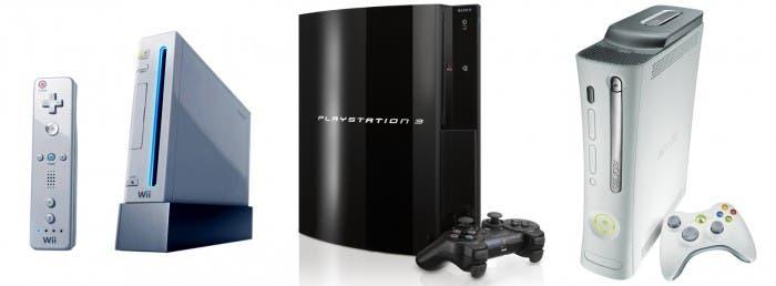 Las 3 consolas de la generación actual