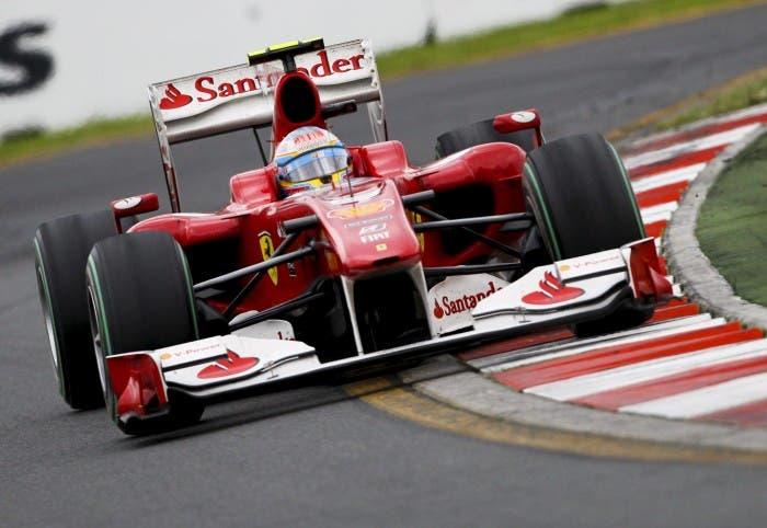 Fernando Alonso en el GP de Suzuka