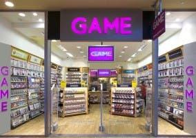 Una tienda Game española