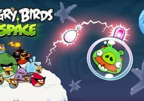 Angry Birds Space Fry Me to hte Moon