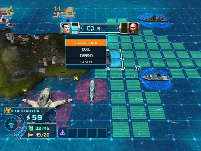 Battleship gameplay en Wii