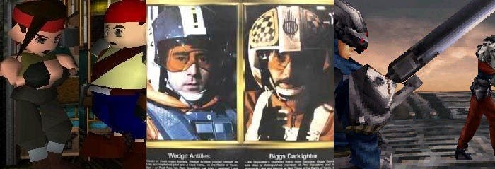 Biggs y Wedge están sacados del universo Star Wars