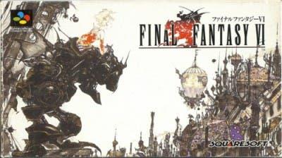 Caja japonesa Final Fantasy VI
