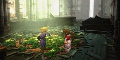 Cloud y Aeris juntos