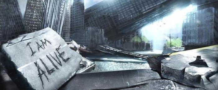 Ciudad devastada