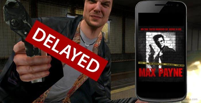 Max Payne retraso portada