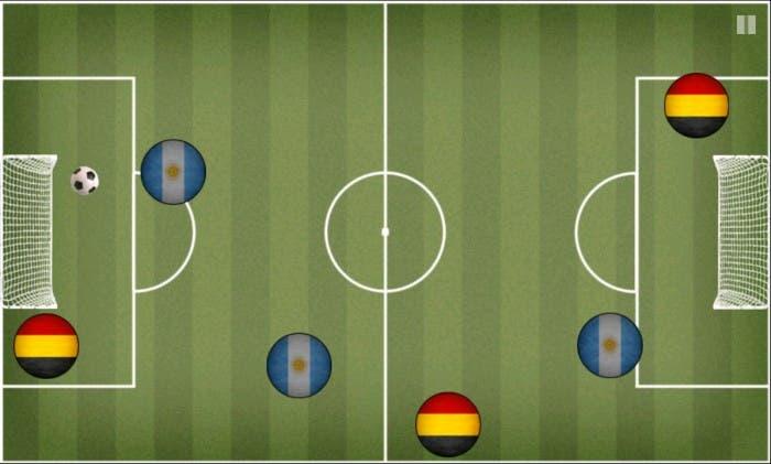Pocket Soccer Partido