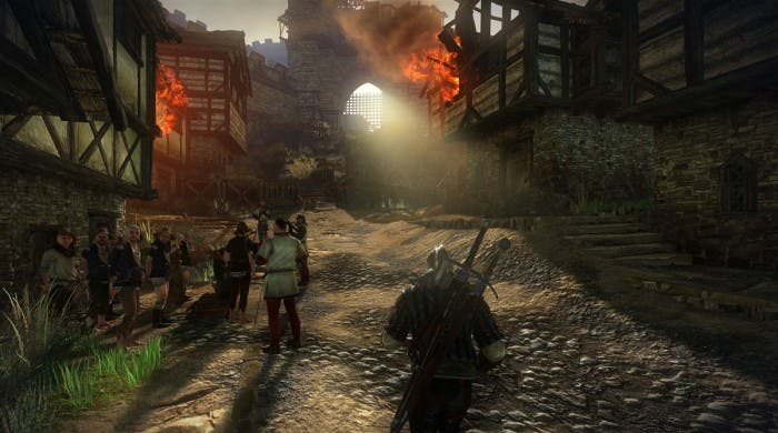 The Witcher 2 fuego