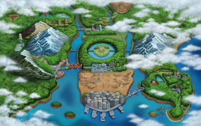 Nueva región Pokémon
