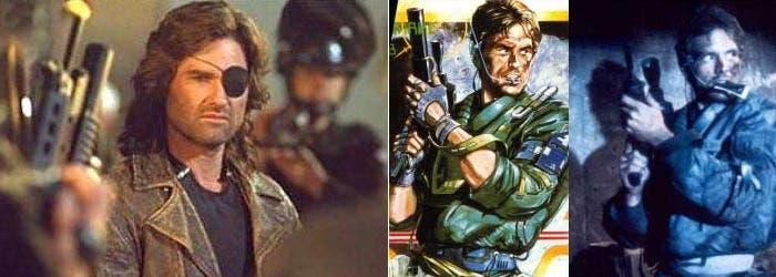 La portada de Metal Gear y su parecido con Terminator y Kurt  Russell