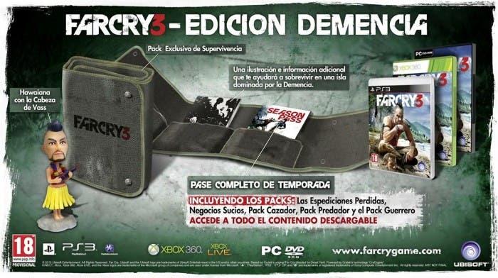 Edición coleccionista de Far Cry 3