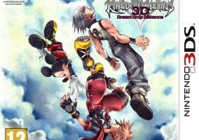Kingdom Hearts 3DS carátula