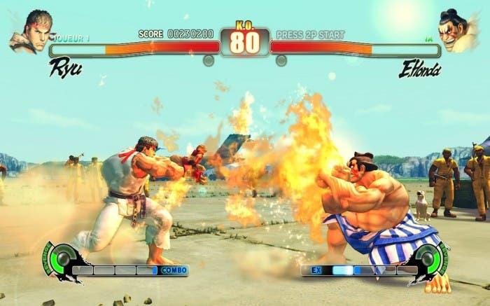 Ryu vs Honda