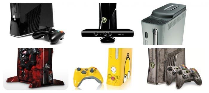 Versiones de Xbox 360