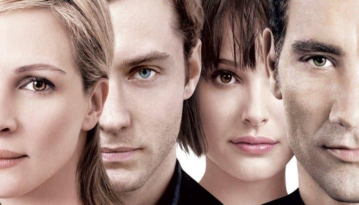 Julia Roberts, Clive Owen, Natalie Portman, y Jude Law