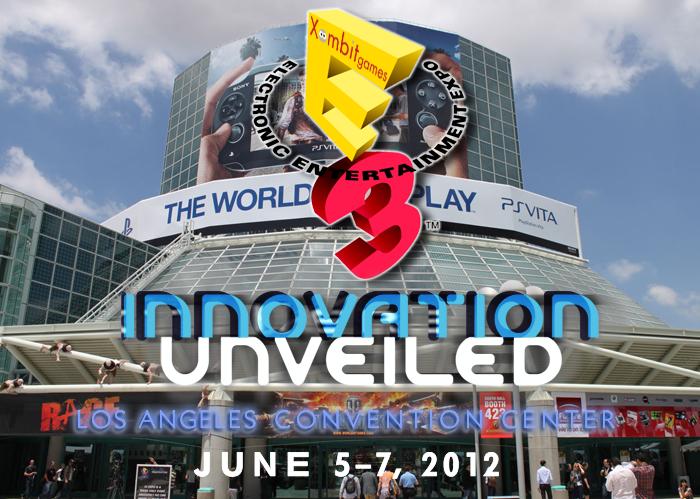 Logo portada E3 2012 en xombitgames