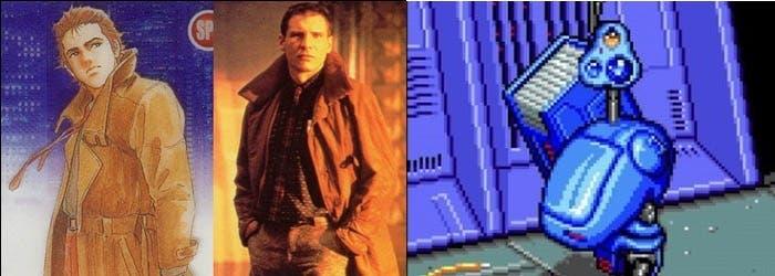 Blade Runner. Snatcher y Metal Gear