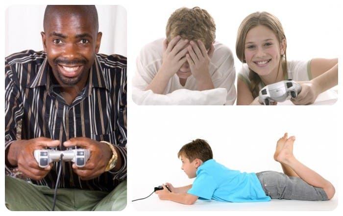 Varios jugadores de consola
