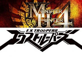 Monster Hunter 4 y E.X Troopers logos