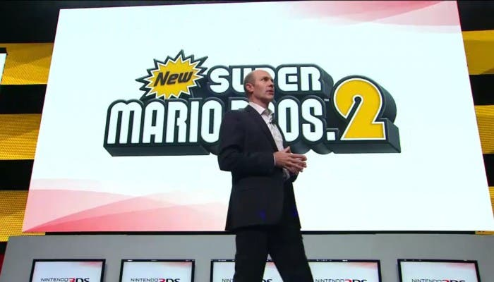 3DS nuevo New Super Mario Bros 2