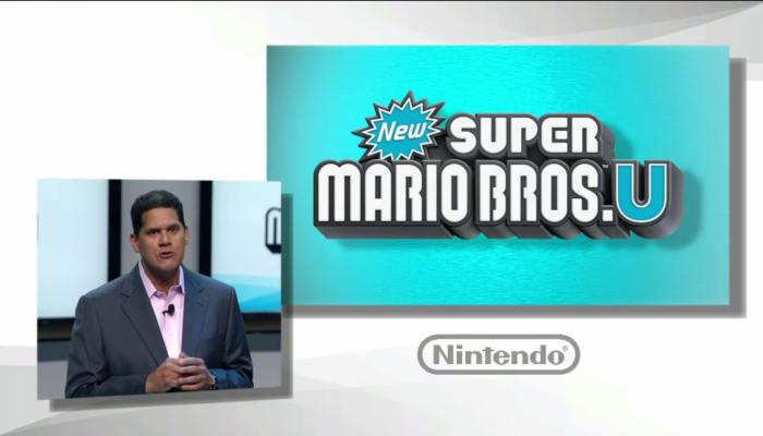 Presentación New Super Mario Bros U