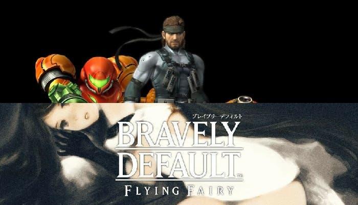 Bravely Default y Super Smash Bros 4