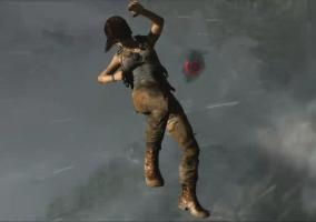 Lara en caída libre