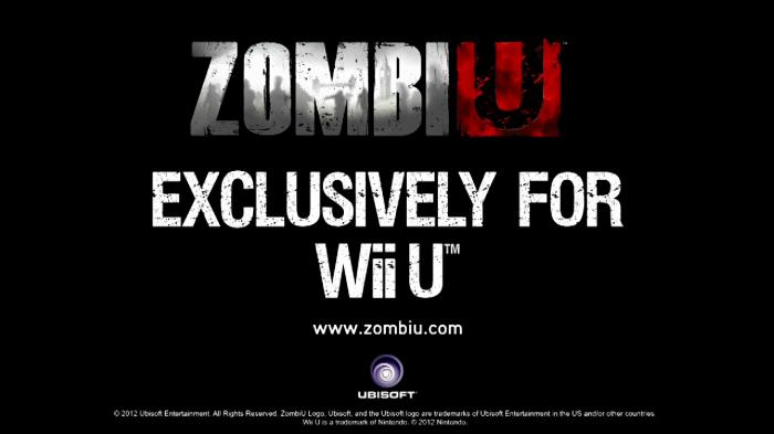 Exlusivo Zombi U Wii U