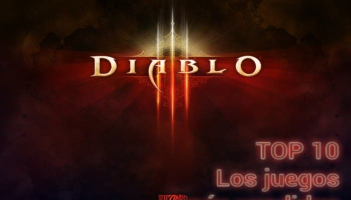 Diablo III Juego más vendido de junio