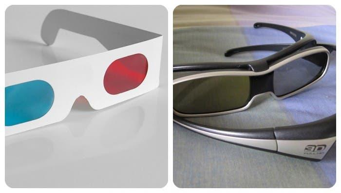 Evolución gafas 3D