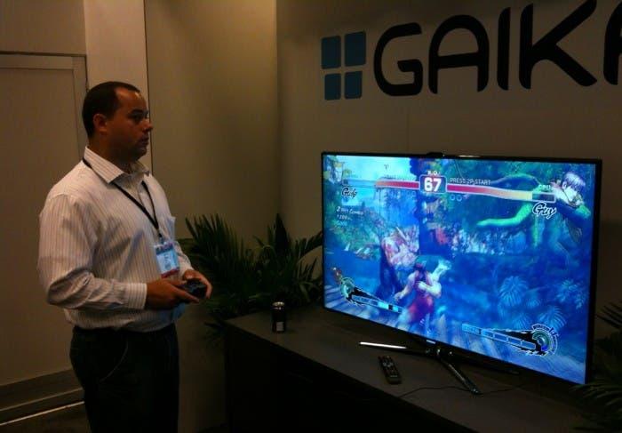 Demostración del servicio Gaikai