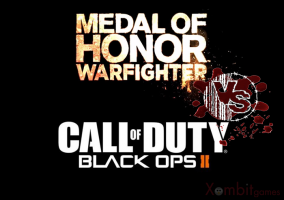 titulo MoH Warfighter vs CoD black ops II